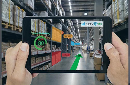 AR interactive asset management development